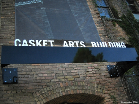 Casket Arts Building Entrance NE Minneapolis